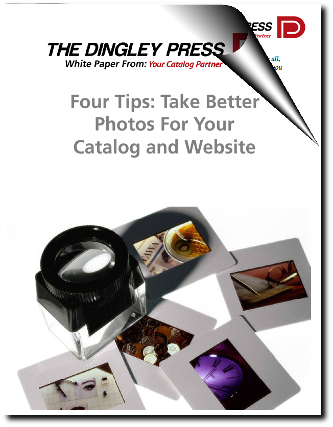 Four Tips: How To Take Better Photographs For Your Catalog and Website