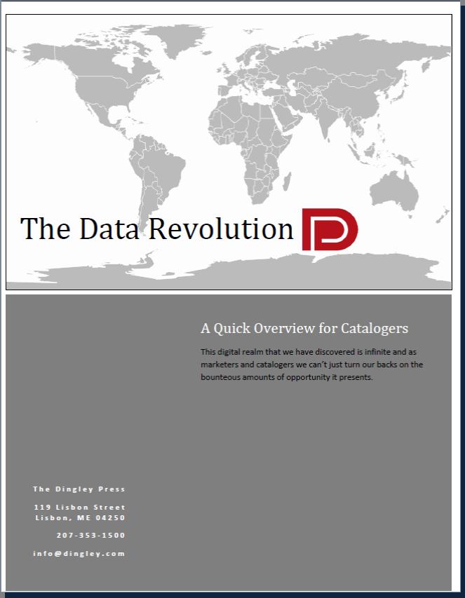 New White Paper!! The Data Revolution
