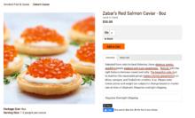 Zabars Caviar Product Description