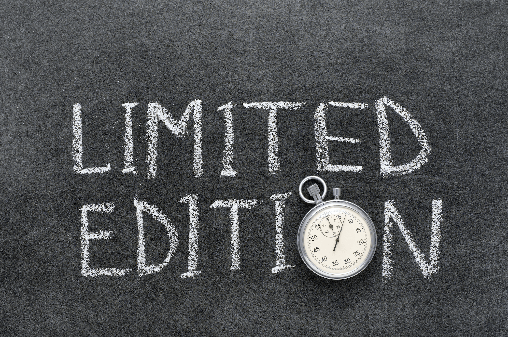For a Limited Time Only – Using the Scarcity Principle in Marketing